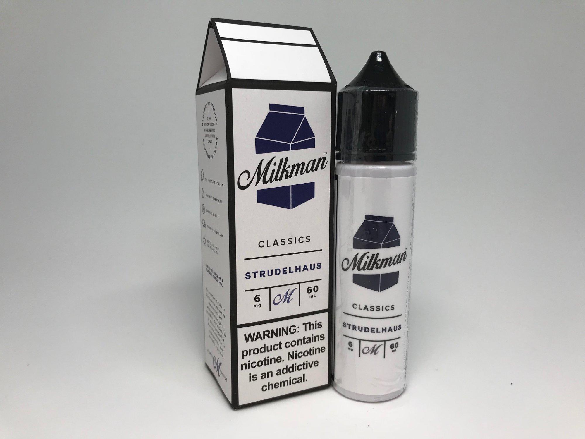 Milkman Strudelhaus eJuice