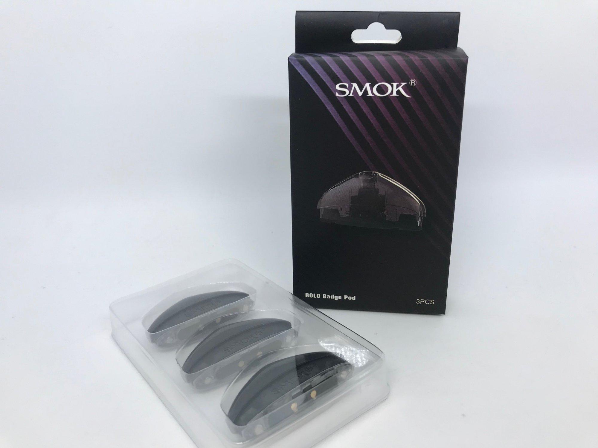 Smok Rolo Badge Pod 3-Pack