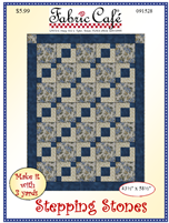 Stepping Stones 3 yd quilt pattern