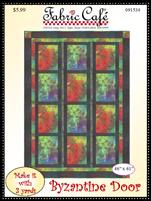 Byzantine Door 3 yd quilt pattern
