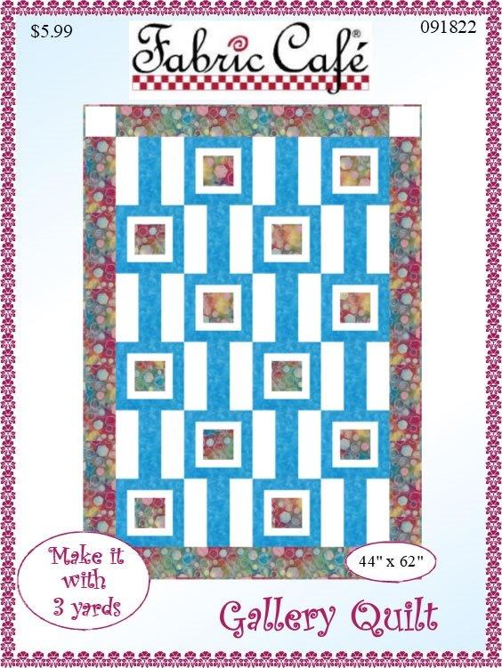 Gallery Quilt 3 Yard Pattern