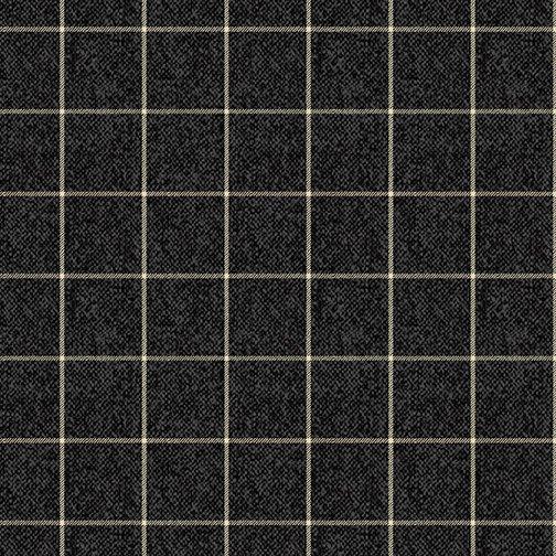 A Very Wooly Winter Window Black