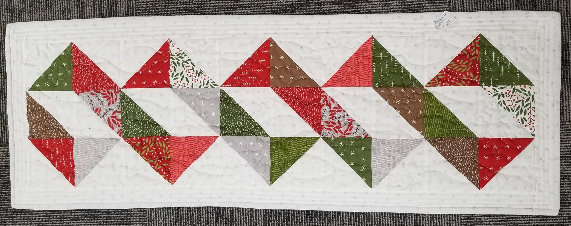 Ribbons/Merriment Shop Sample 15 X 42