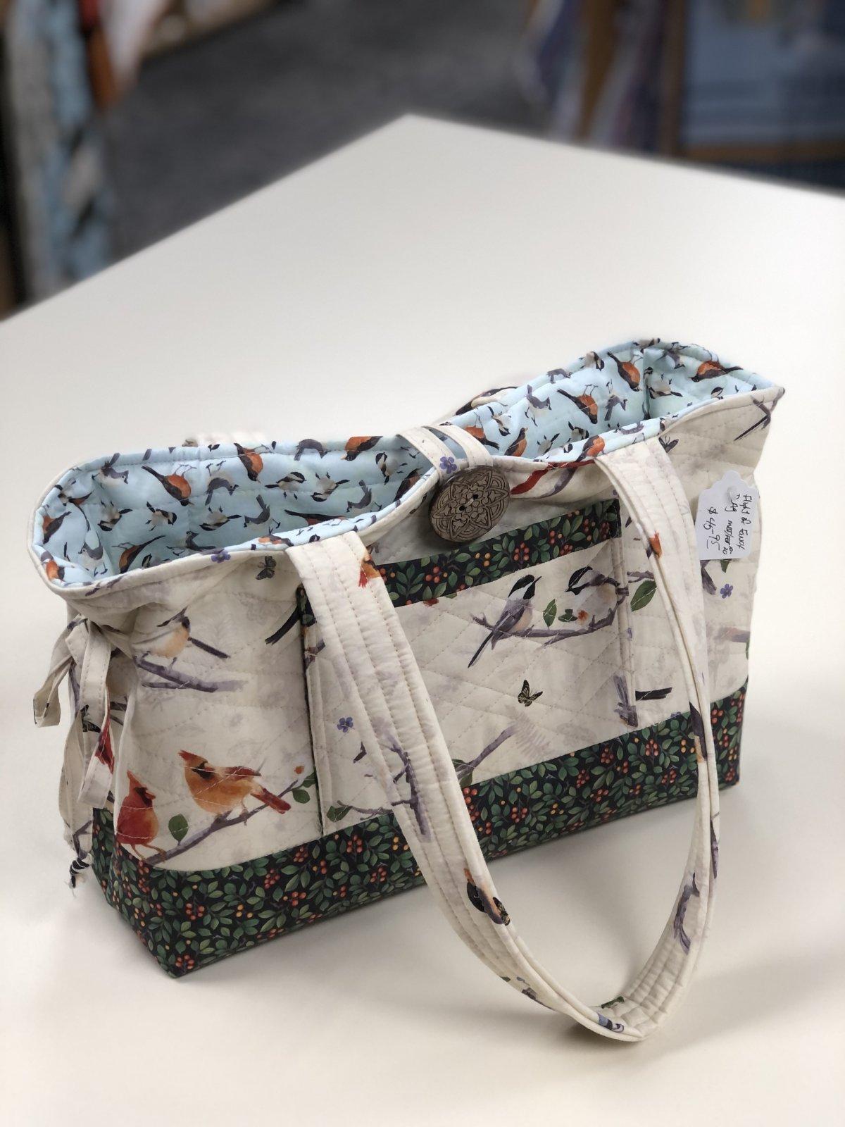Mini Bow Tuck Bag / Flight of Fancy Shop Sample