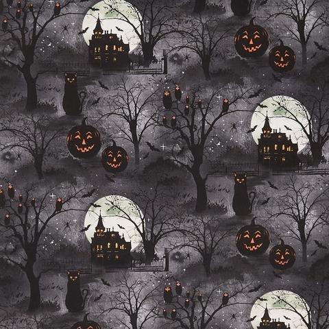 Frightful Night night scene