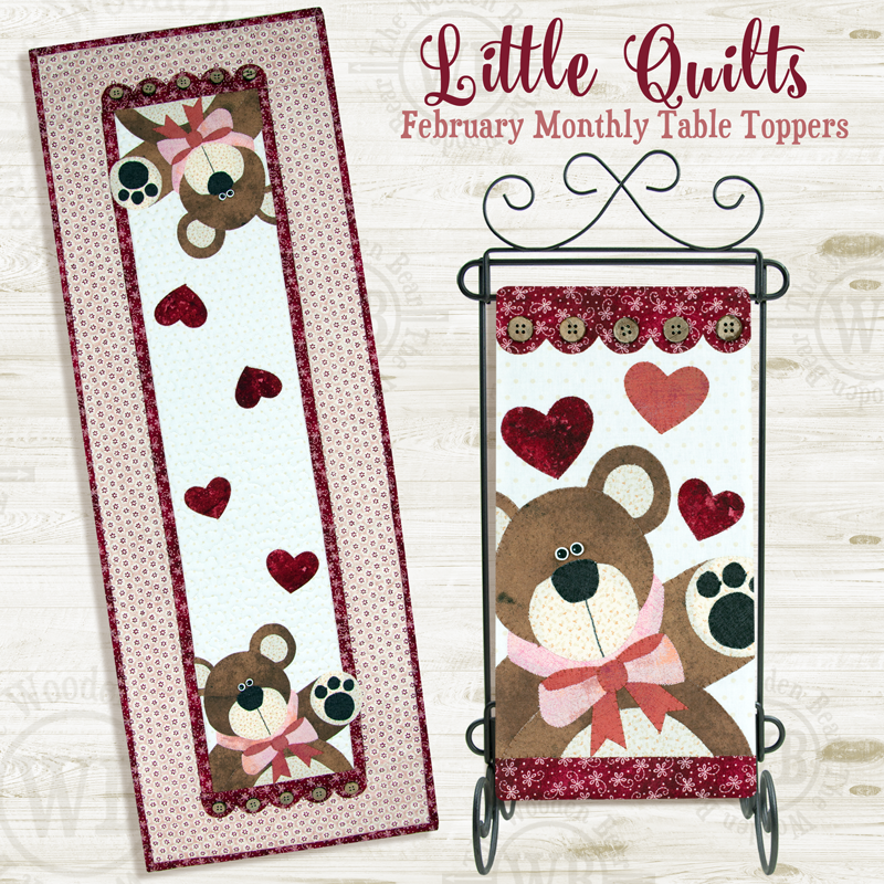 Little Quilts February Pattern
