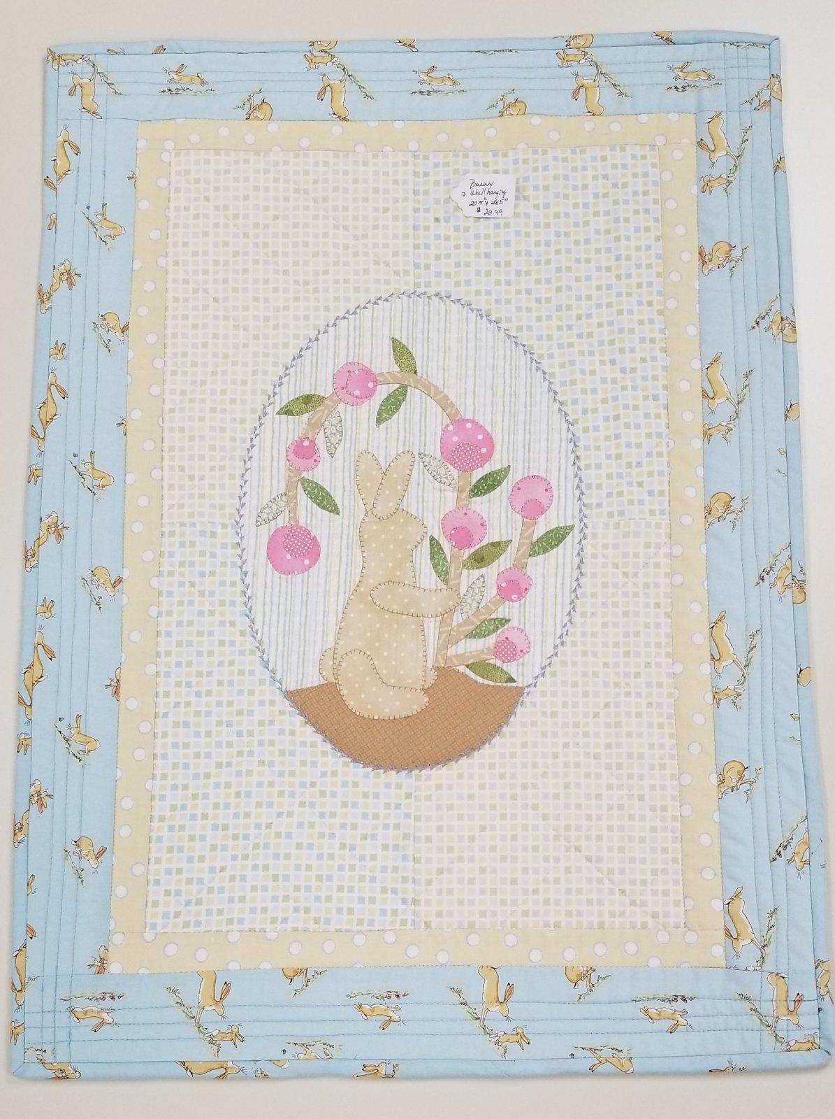 Helen's Bunny Wall Hanging