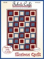 Illusions Quilt 3 Yard Quilt Pattern