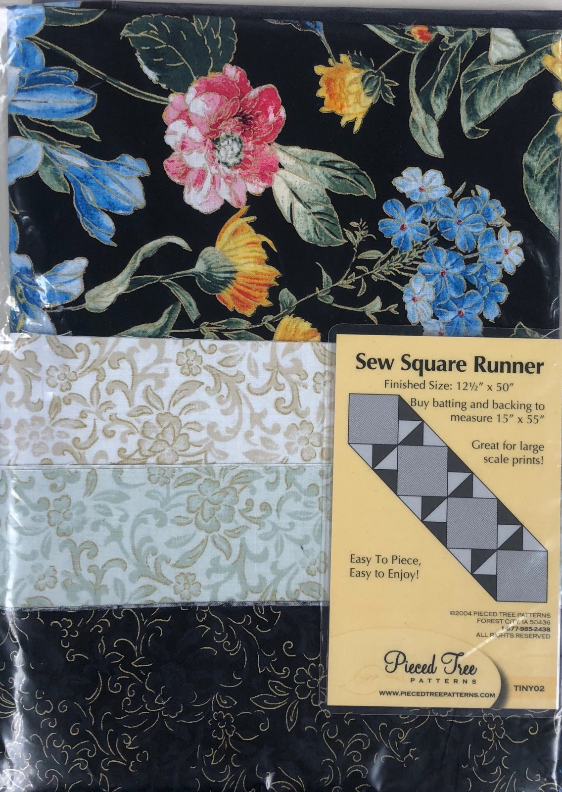 Wild Flower/Sew Square Runner Kit