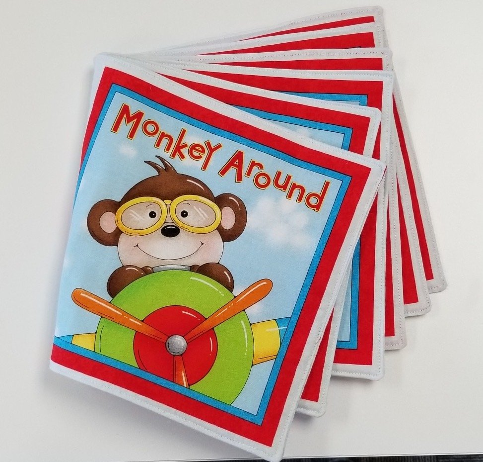 Monkey Around Book Kit