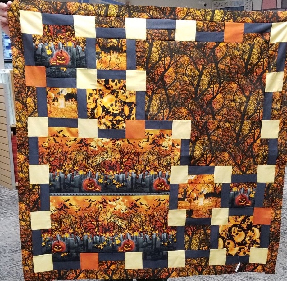 Wicked Hot 44.5 X 44.5 Quilt