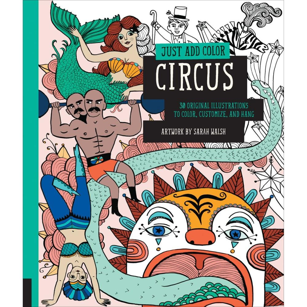 Just add color Circus Book