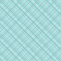 Core'dinations Teal Plaid