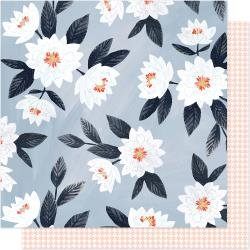 One Canoe Two Twilight Double-Sided Cardstock 12X12 Evening Posies