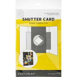 Photoplay Shutter Cards with 2 1/4 Circle Die