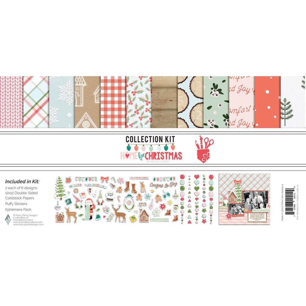 Home for the Holiday Collection Kit with BONUS Layout Instructions