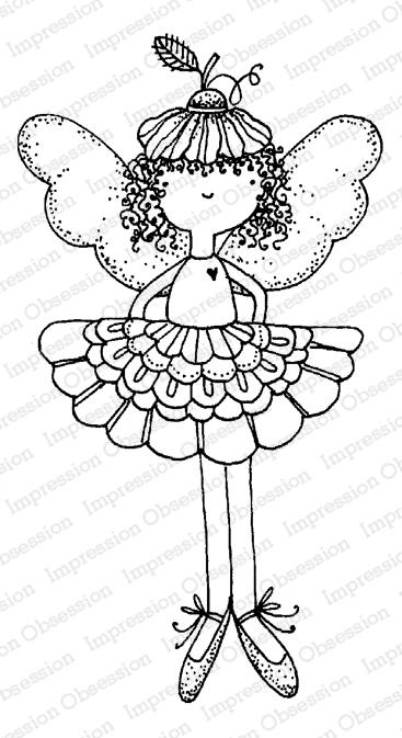 IO Stamp Flower Fairy F12167