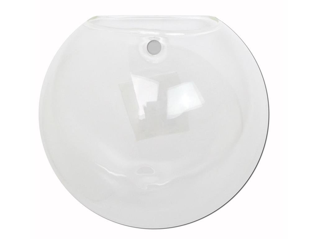 GLASS WALL BUBBLE POCKET 4 75 CLEAR