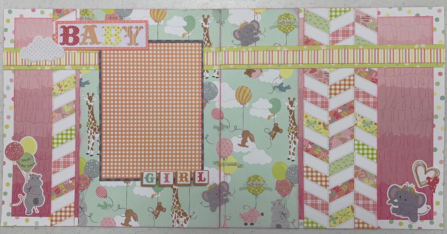 Baby Girl Layout Kit