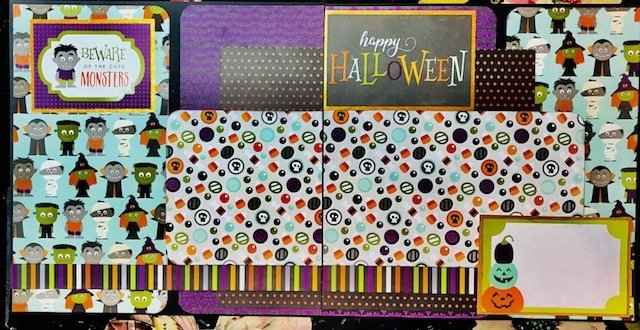 Happy Halloween Layout Kit