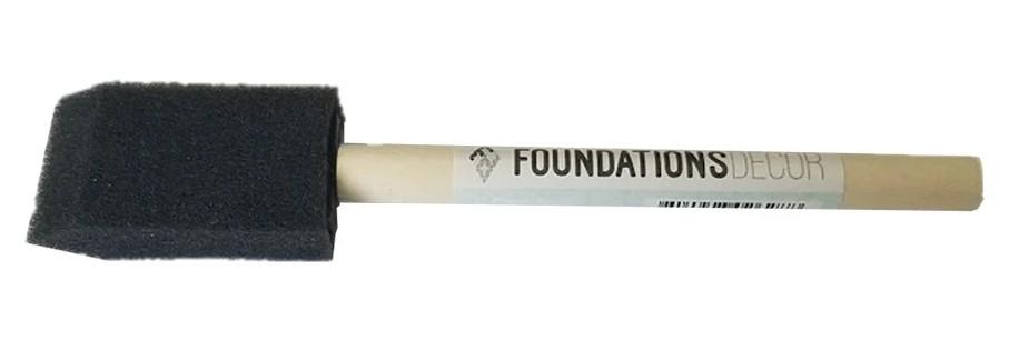 Foundations Decor 1 Foam Brush