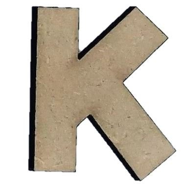 Foundations Decor Letter K
