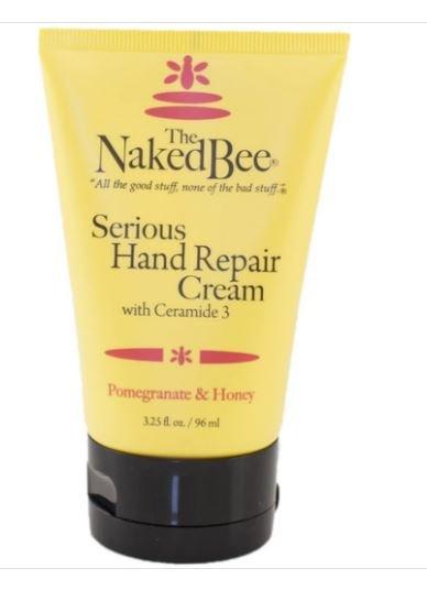 The Naked Bee Pomegranite &  Honey Serious Hand Repair Cream 3.5 oz