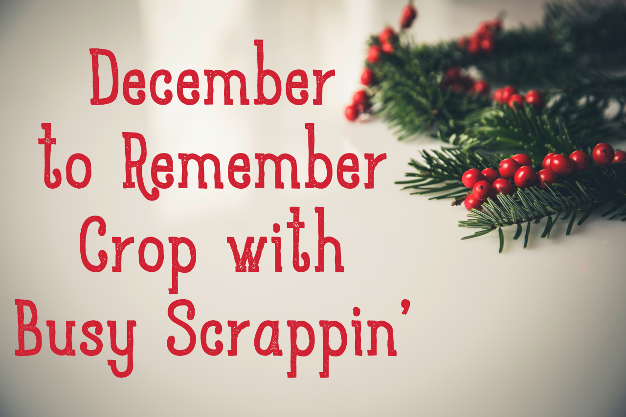A December to Remember Crop