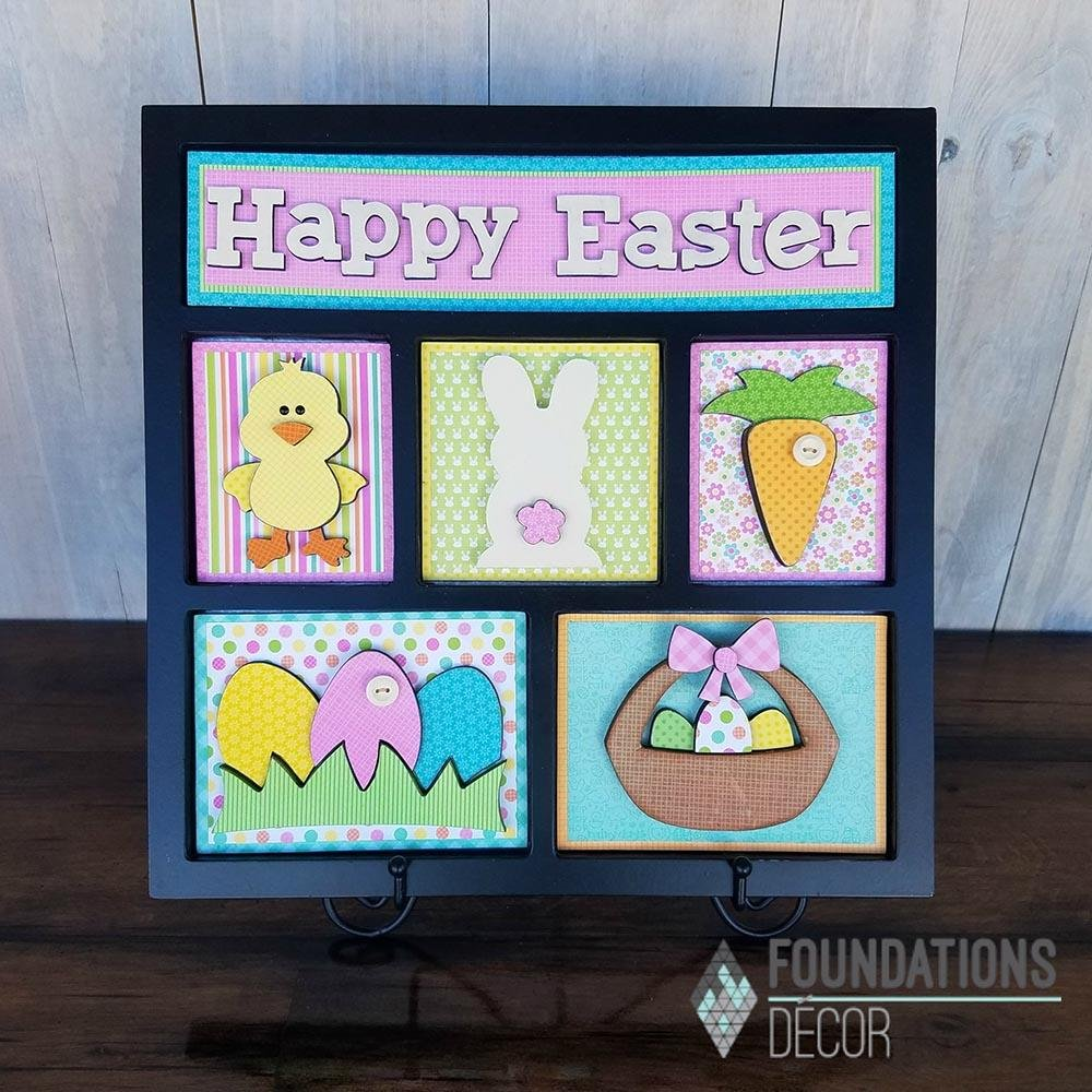 FD Shadowbox Happy Easter