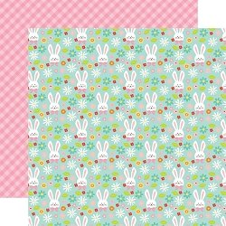 Echo Park Hello Easter 12x12 Double Sided Paper- Hoppy Easter