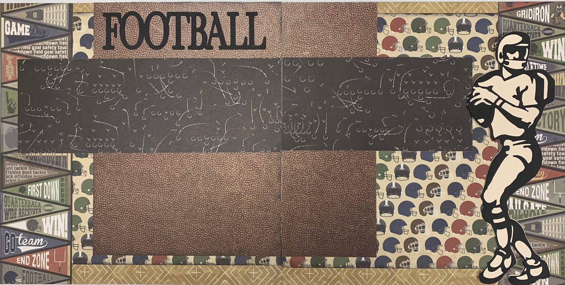 Football Gridiron Layout Kit
