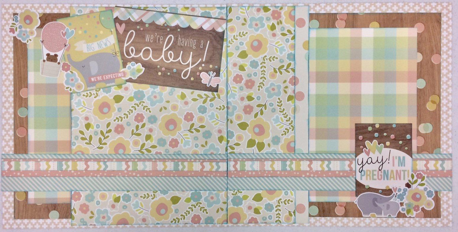 Expecting Baby Layout Kit