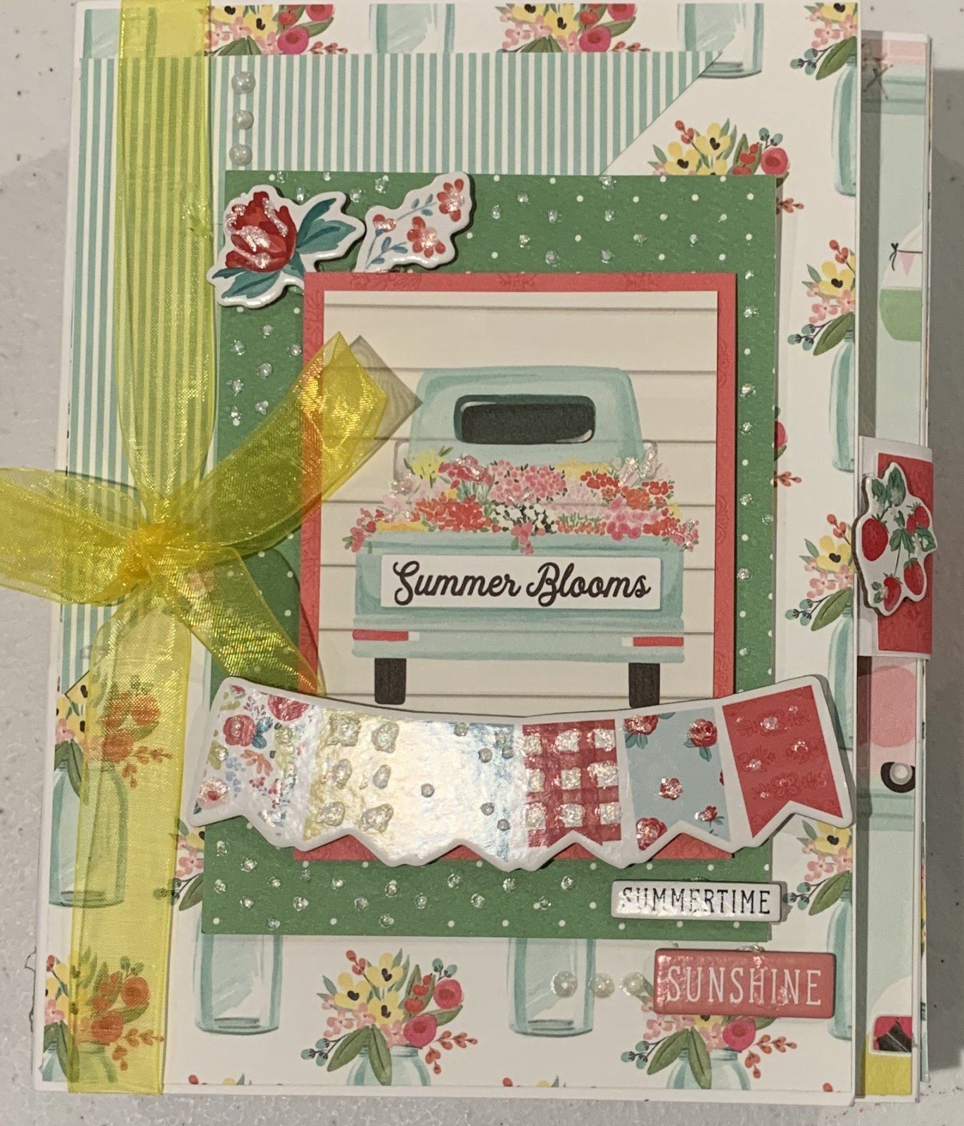 Summer Blooms Kit & Online Class
