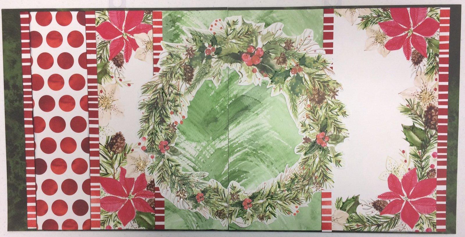 Christmas Wreath Layout Kit
