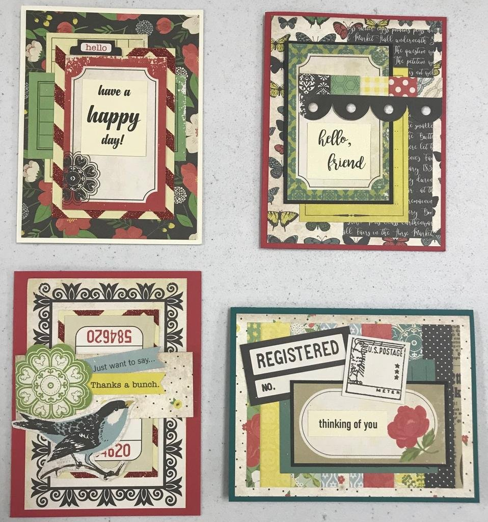 Eclectic Card Kit