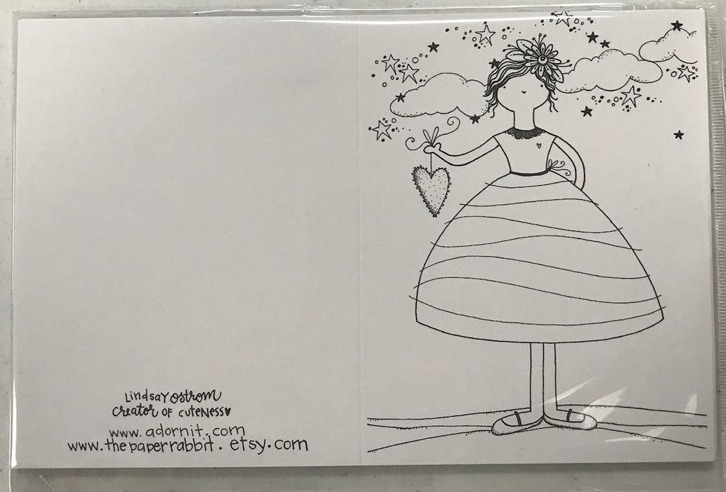 Adornit Wave Girl Card Kit