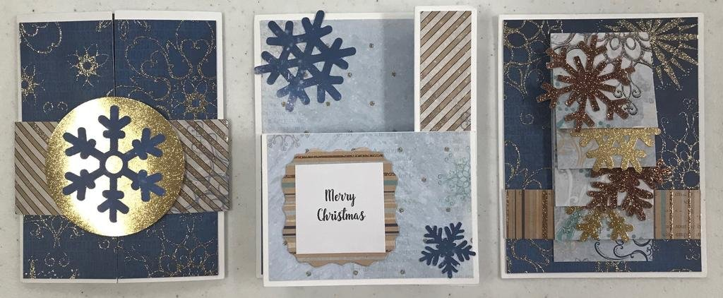 Interactive Snowflake Card Kit Online Class