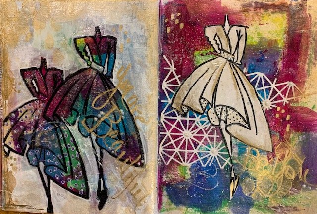 All that Glimmers Art Journal Class
