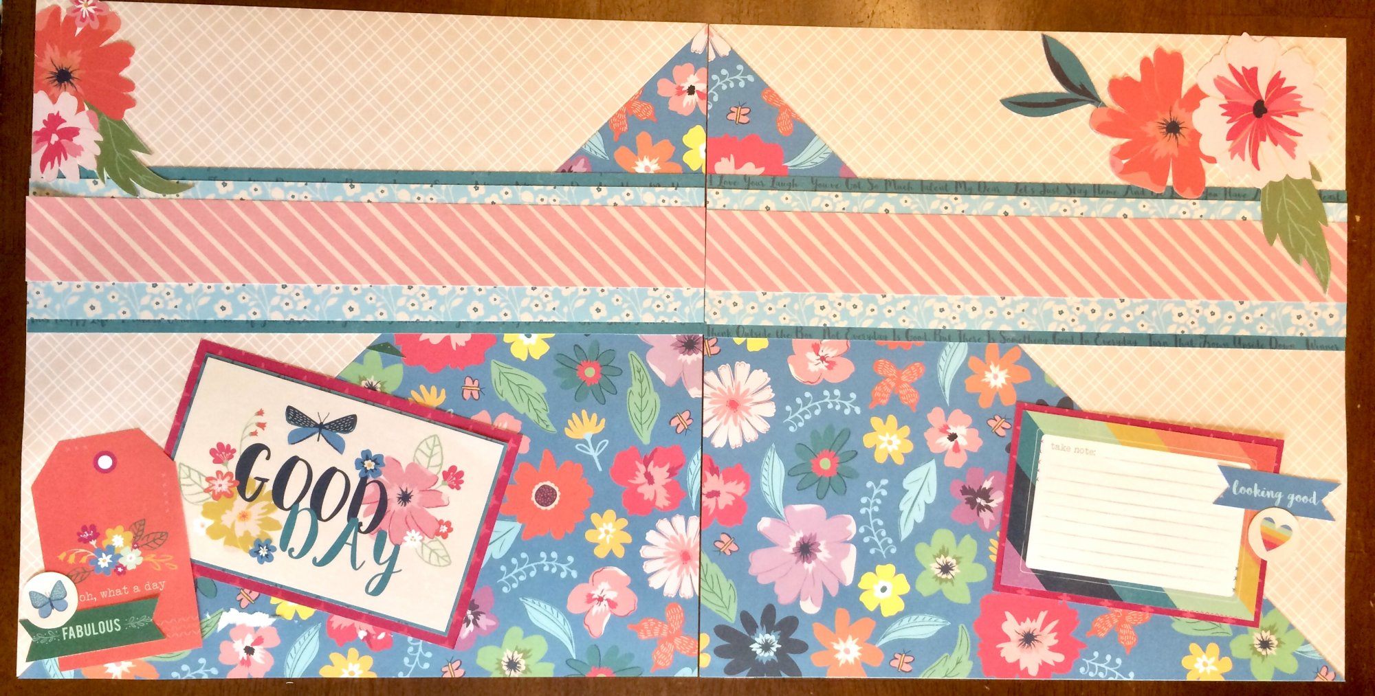 Whimsical COMBO Layout AND Card Kit