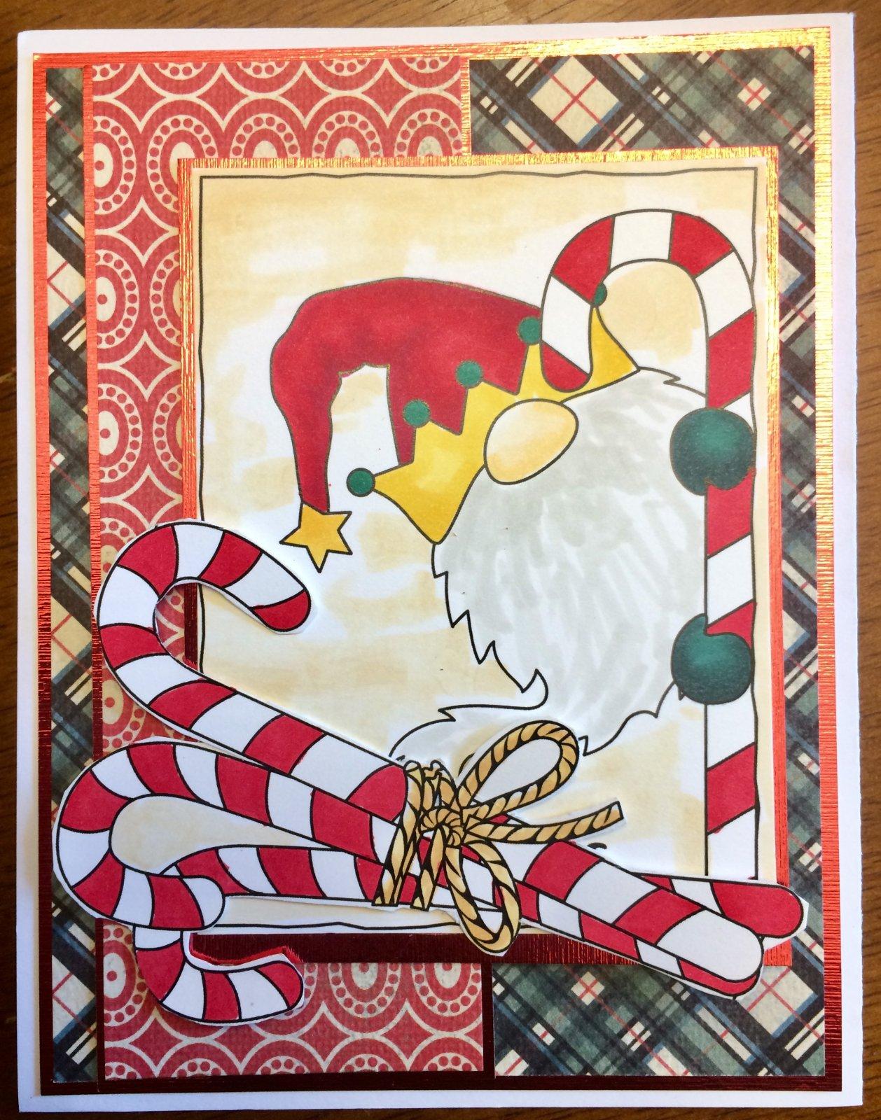 Christmas Gnome Card Kit