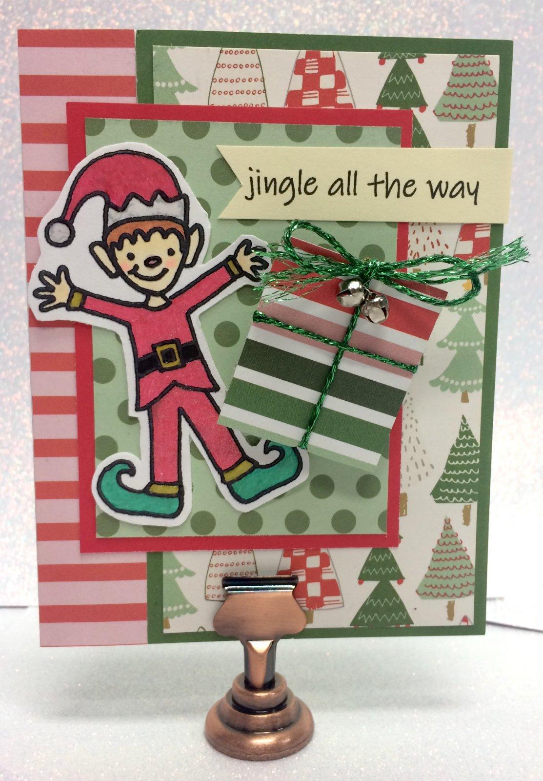 Jingly Wobble Card Make 'n Take - Set of Five