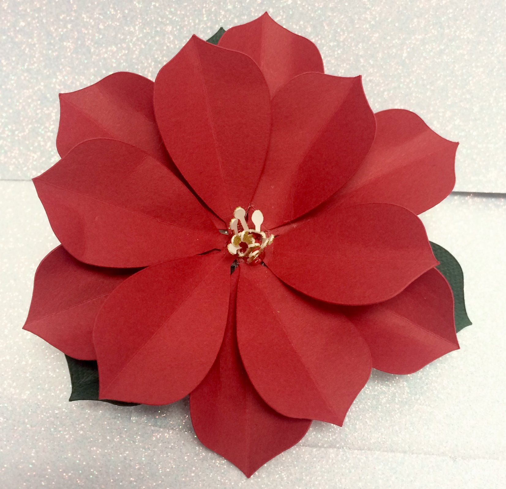 Poinsettia Magnet Make 'n Take - Set of Five