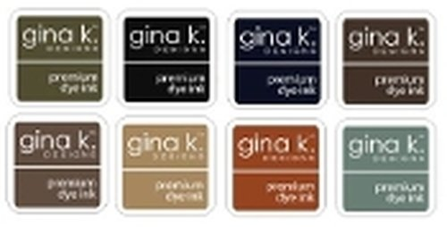 Gina K Ink Cube Collection Neutral