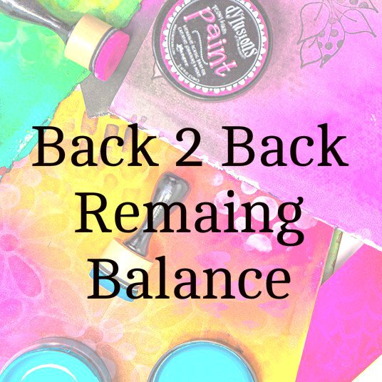 Back 2 Back 2020 Remaining Balance