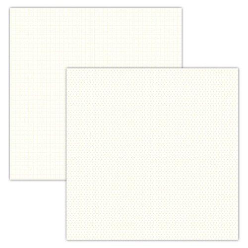 FD PLaid/Dots Cream