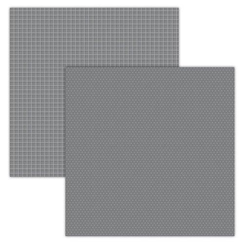 FD PLaid/Dots Grey