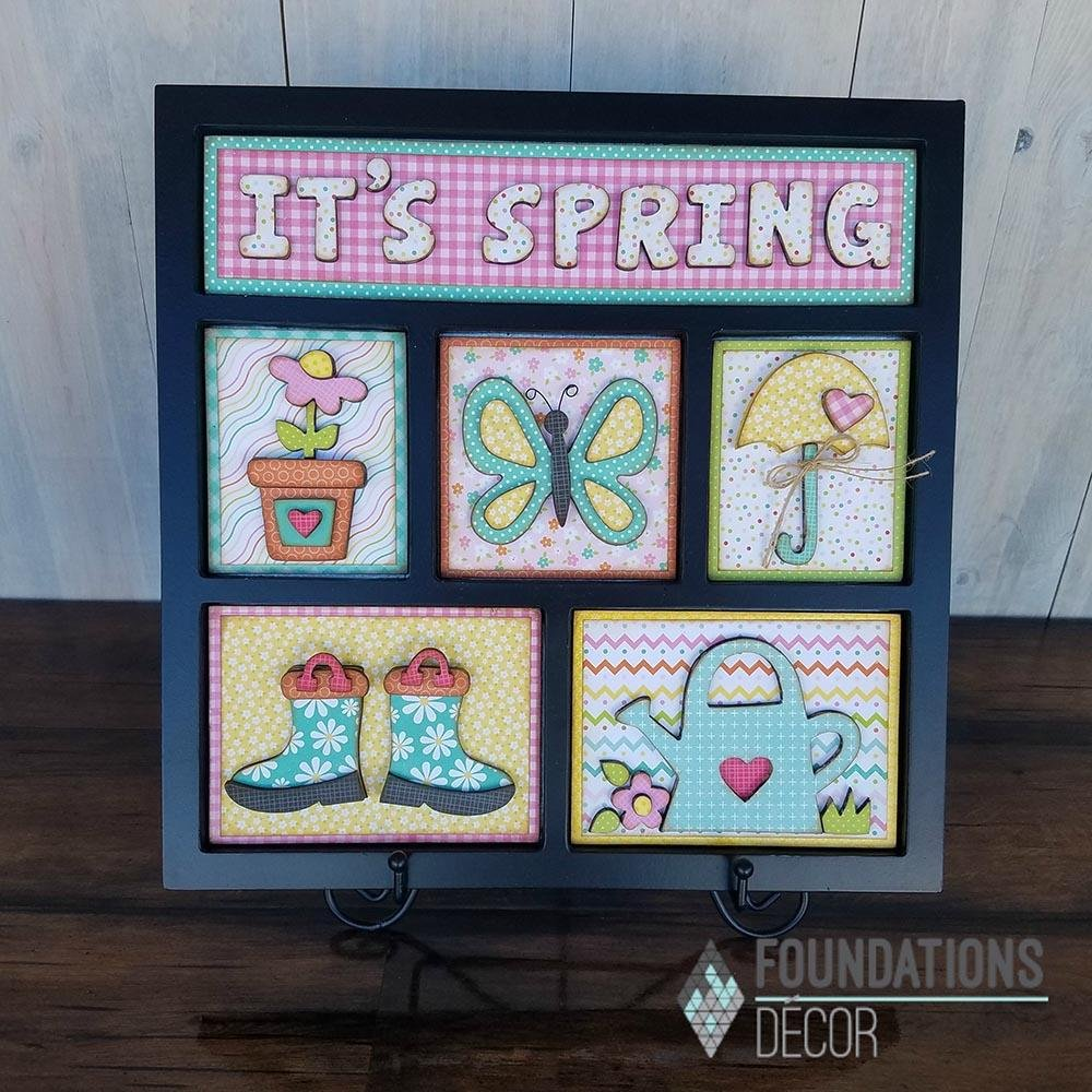 FD Shadowbox kit-IT'S SPRING