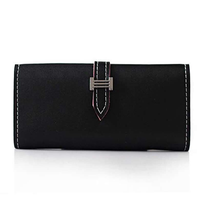03-   PU Leather Concise Wallet