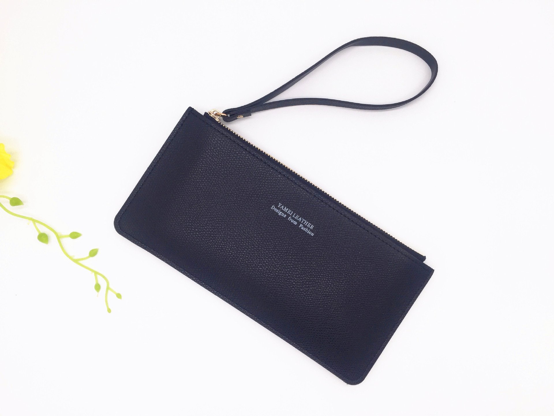 03- leather clutch wallet