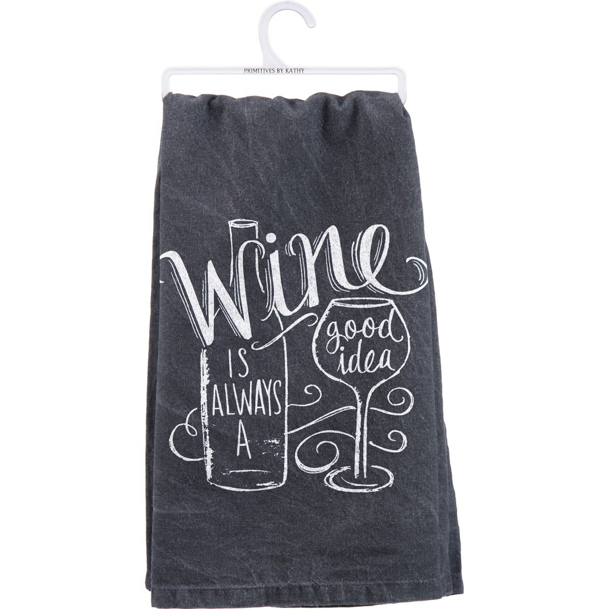 03- tea towel wine good idea